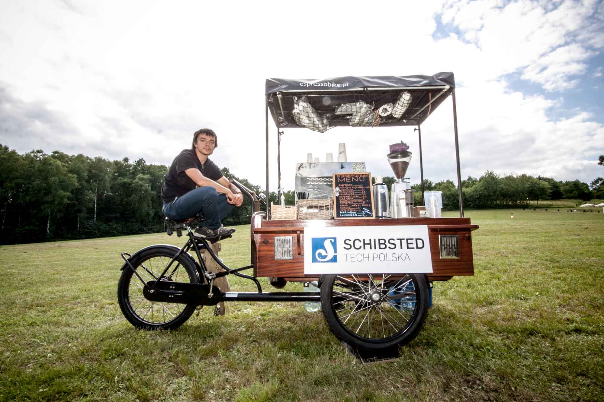 Our very own coffee bike!