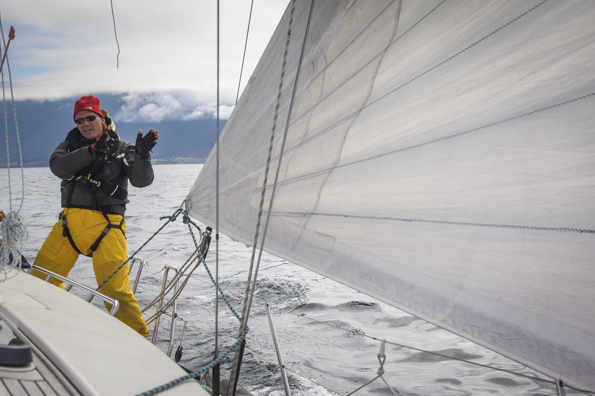 Passion for sailing: CEO Stig A. Waagbø