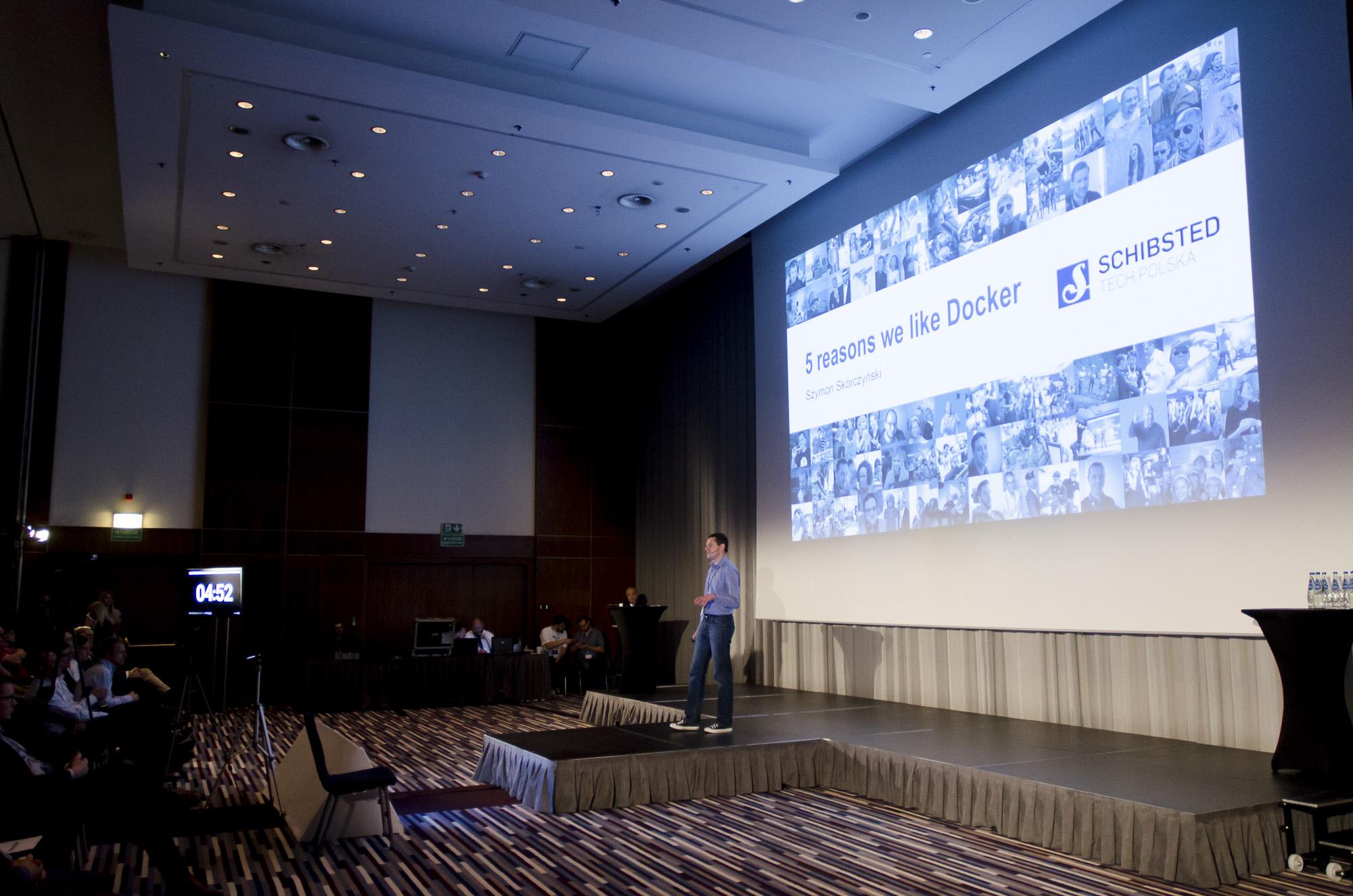 Team leader Szymon Skórczyński explained why Docker is used so much in Schibsted Tech Polska