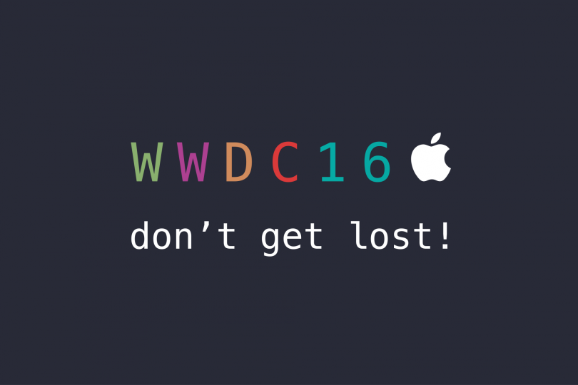 DONT GET LOST WWDC