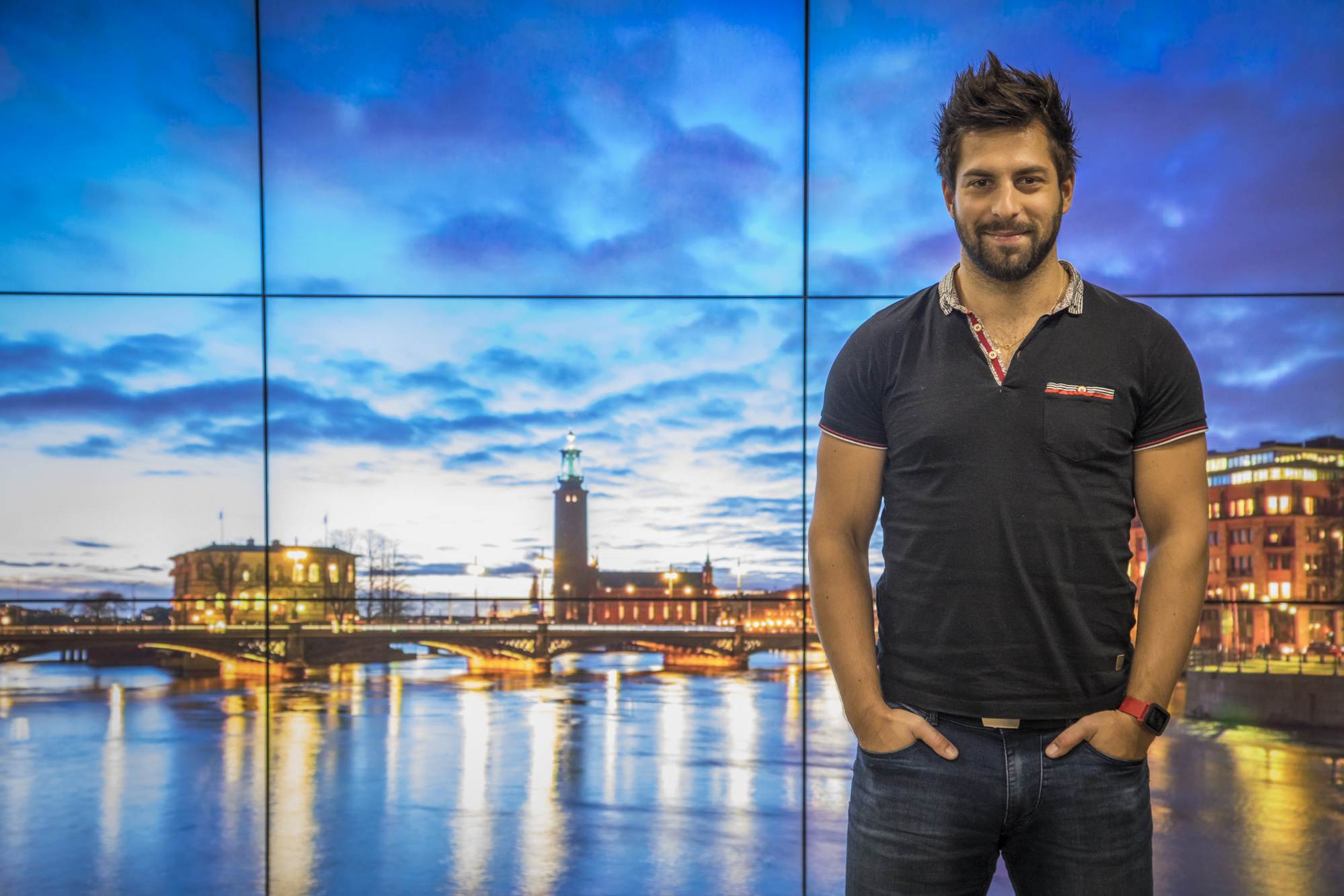 Android developer Artur Glier spent three months working for Aftonbladet TV in Stockholm