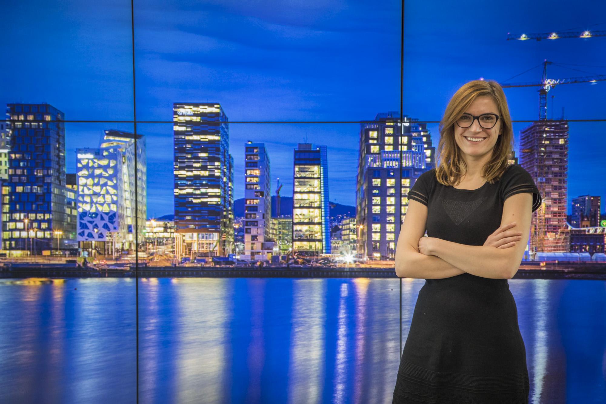 Iwona Leszczyńska spent three months in Oslo