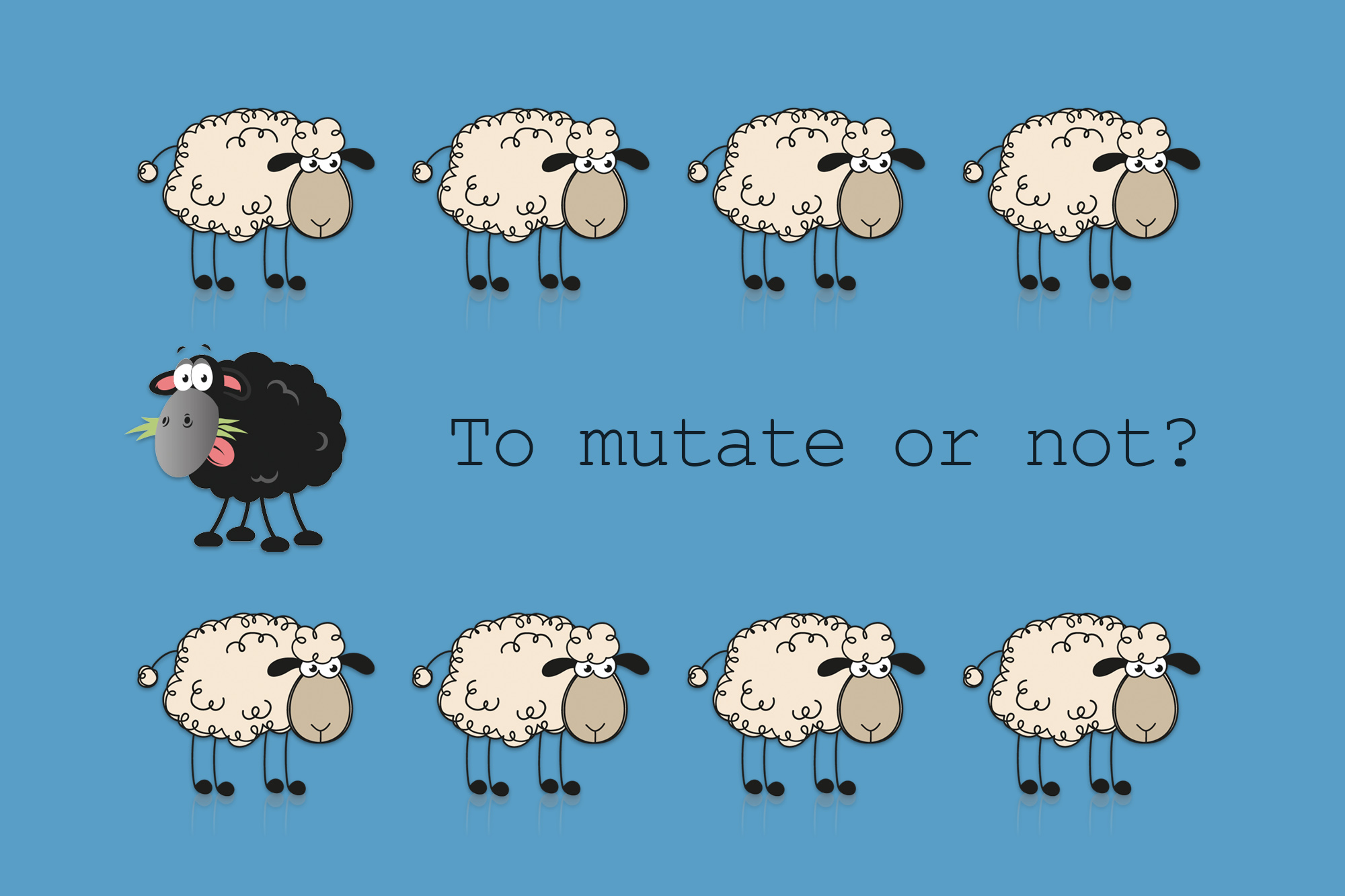 To mutate or not