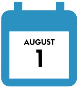 Aug 1