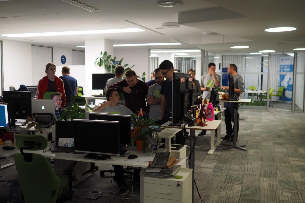 VG Team testing their application