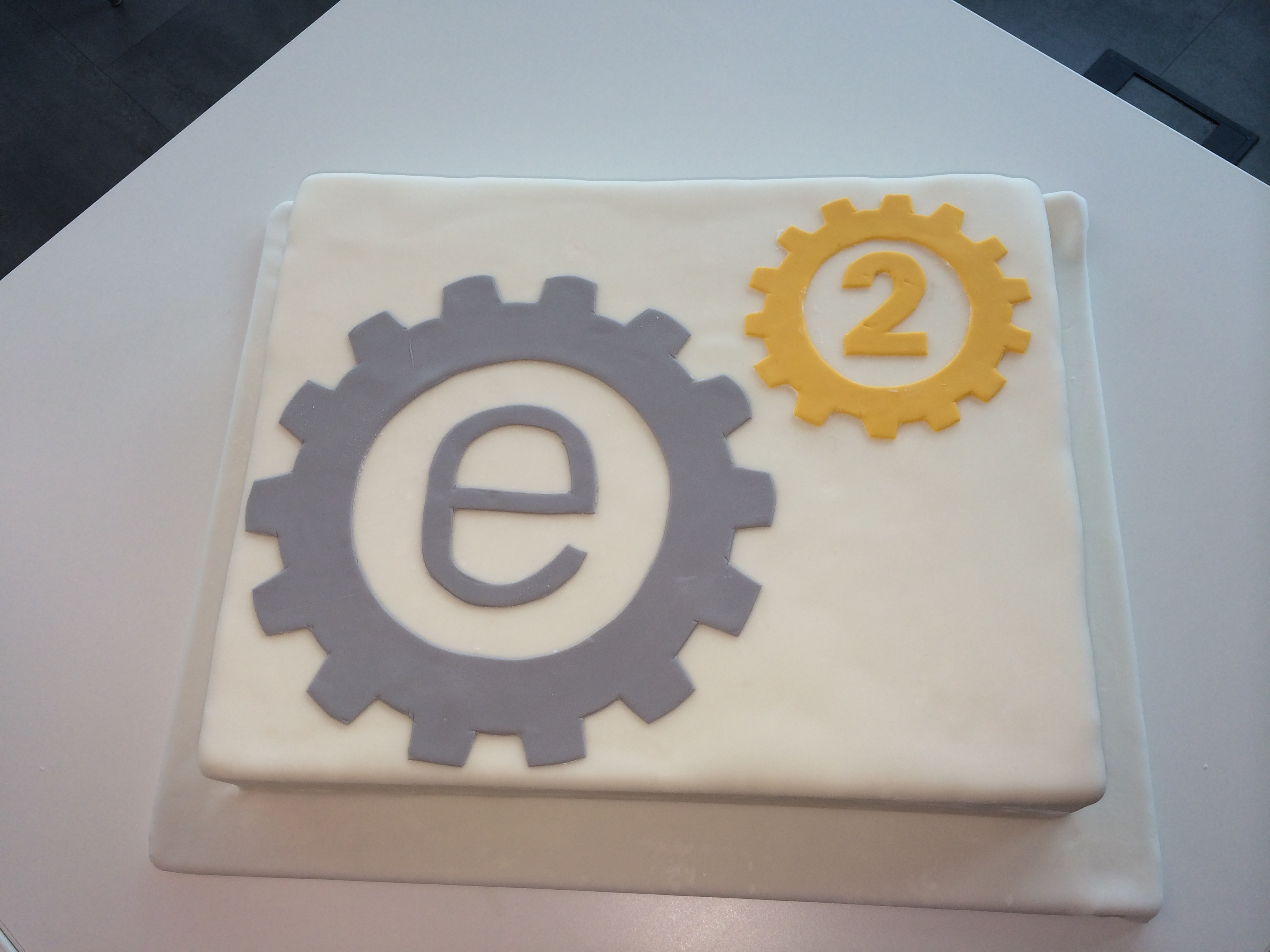 Event Engine 2.0 project release celebration cake