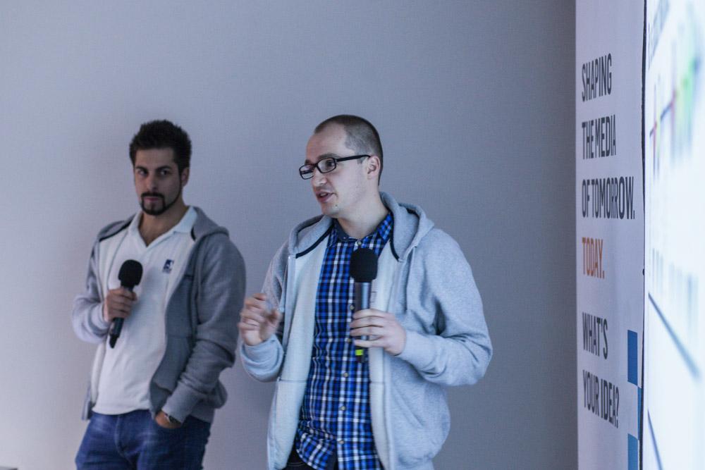 Artur Glier and Maciej Walczyński from Aftonbladet´s team in Krakow