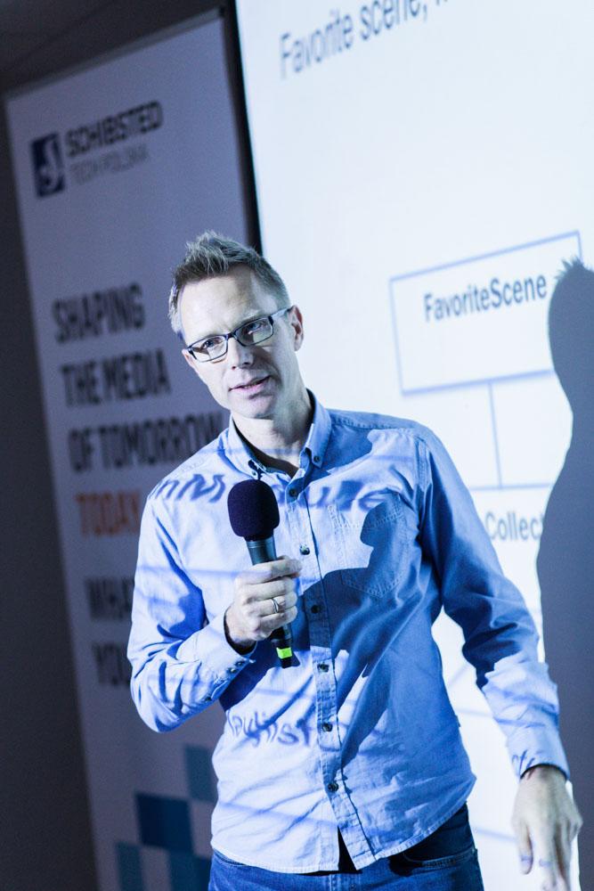 Pål Berg in Wimp at STP´s Mobile Development Meetup in Gdansk in November