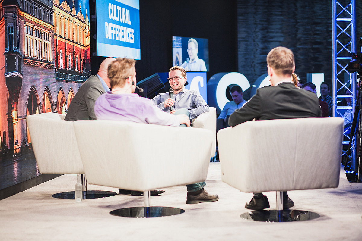The Norwegian host´s failed attempt at pronouncing Polish names correctly caused laugher, for instance from the guest with the hardest name, Konrad Pietrzkiewicz