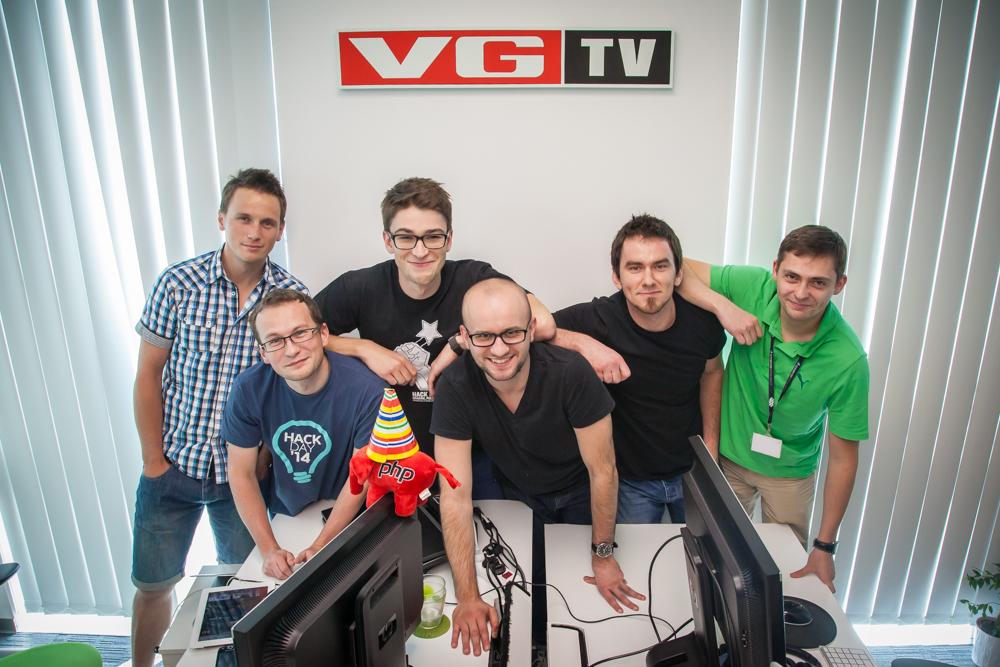 The VGTV development team in Schibsted Tech Polska in Krakow. Photo: John Einar Sandvand