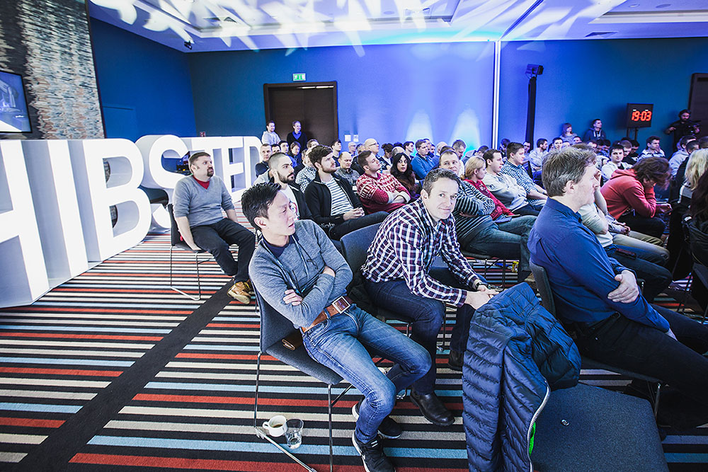 180 participants listened to 19 different STP Award presentations from Aftenposten and other teams in Schibsted Tech Polska