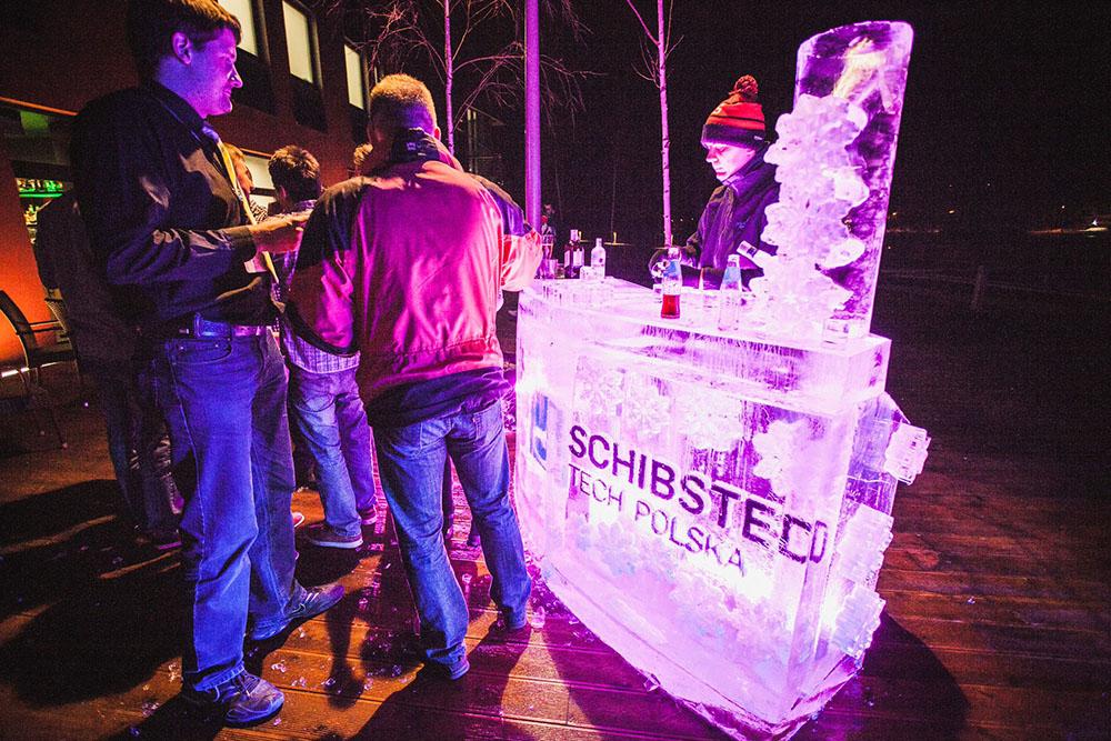 The Schibsted Tech Polska Ice Bar!