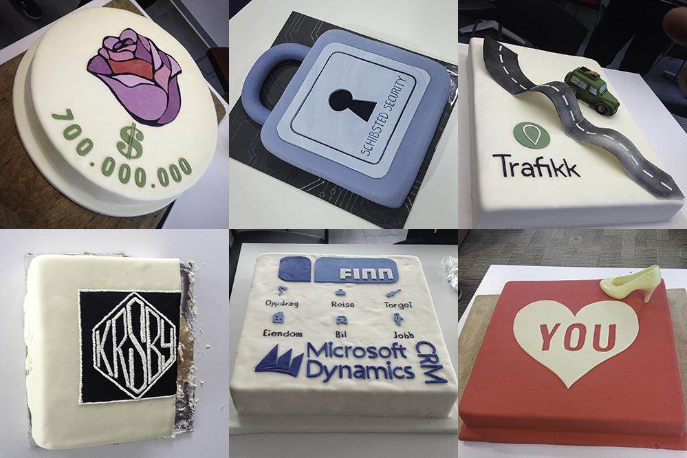 Cake celebrations in Schibsted Tech Polska