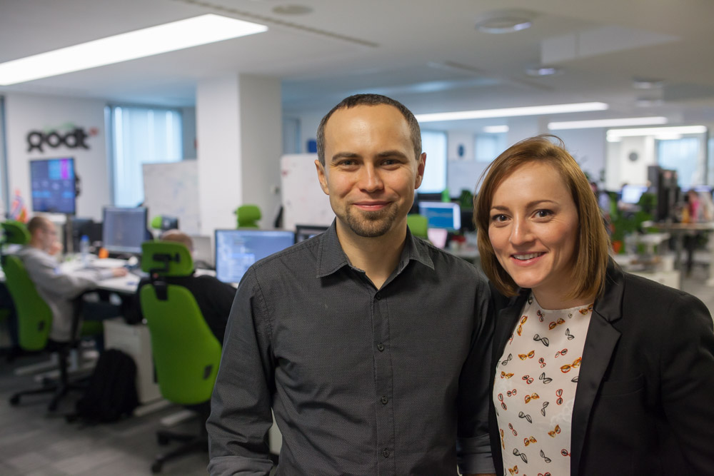 Piotr Knapik and Aleksandra Grzybowska were elected as the first employee representatives in Schibsted Tech Polska