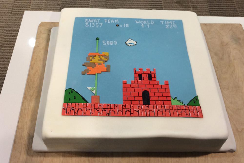 Digital sports cake?