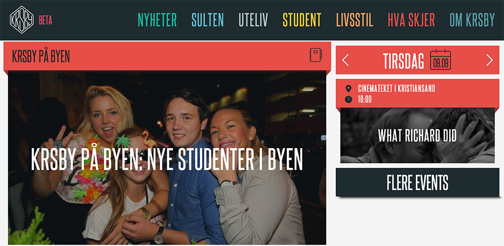 KRSby is Fevennen´s city guide for young people