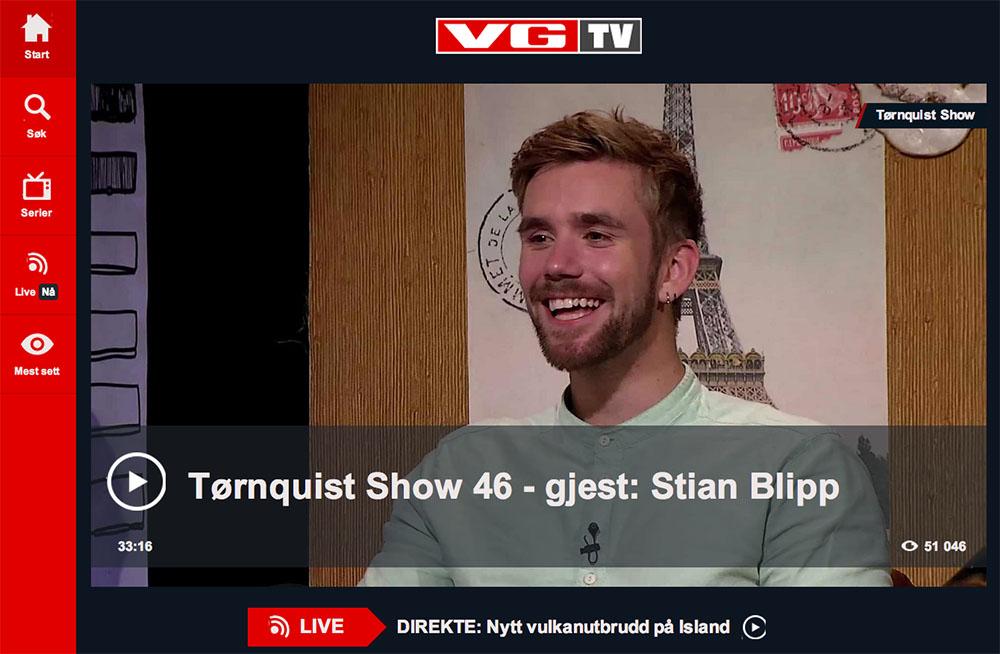 VGTV has on average 550.000 video views per day