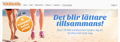 With 20.000 members Aftonbladet´s Viktklubb is a leading service in helping Swedes lose weight