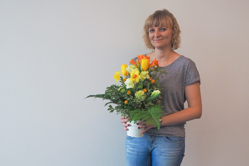 Florist for a day: Justyna Cieciora