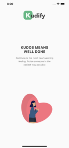 Kudify - onboarding screen 3